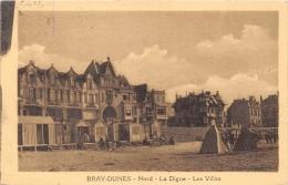 NORD 59 BRAY-DUNES   DIGUE  VILLAS - Francia