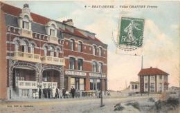 NORD 59 BRAY-DUNES   CAFE  HOTEL  VILLAS CHANTRY FRERES - Autres Communes
