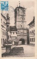 D21487 CARTE MAXIMUM CARD TRIPLE 1948 GERMANY WÜRTEMBERG - RAVENSBURGER TOR - WANGEN CP ORIGINAL - Architecture