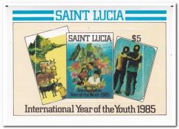 St. Lucia 1985, Postfris MNH, Plants, Trees - St.Lucia (1979-...)