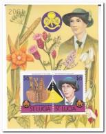 St. Lucia 1986, Postfris MNH, Plants, Scouting - St.Lucia (1979-...)