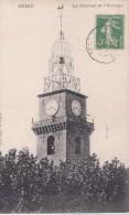 Carte 1910 DIGNE / LE CLOCHER ET L'HORLOGE - Digne