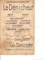 Le Dénicheur. Valsy & Turcy. - Partitions Musicales Anciennes