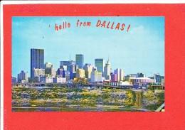 DALLAS Cpsm Hello From Dallas 9132 M C - Dallas