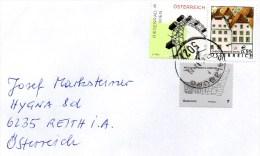 Brief Von 5023 Salzburg Mit 68 Cent Mischfrankatur  2015 - 1945-.... 2. Republik