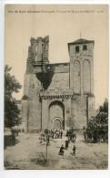 Saint Avit Sénieur Portique De L'église Fortifiée - France