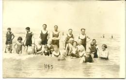 De Panne La Panne Photo Carte Vacances 1929 - De Panne