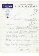 Facture: HORNAING (Nord).  MECANIQUE GENERALE - Lievin Brassart.   19??. - 1900 – 1949
