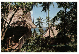 (431) Micronesia ? Ponape Thatch Roof Ihmws - Micronesia