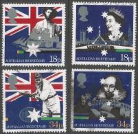 Great Britain. 1988 Bicentenary Of Australian Settlement. Used Complete Set. SG 1396-1399 - 1952-.... (Elizabeth II)