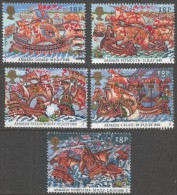 Great Britain. 1988 400th Anniv Of Spanish Armada. Used Complete Set. SG 1400-1404 - Used Stamps