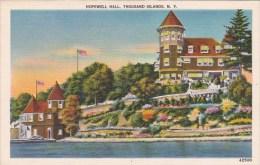 New York Thousand Islands Hopewell Hall