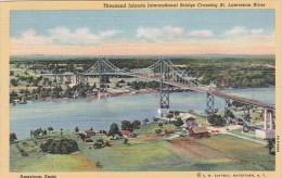 New York Thousand Islands International Bridge Crossing Saint La