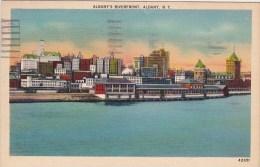 New York Albany's Riverfront 1941