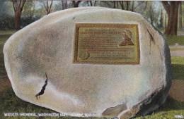 New York Albany Willett Memorial Washington Park