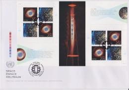 United Nations FDC Mi 788-789 Space: Nebulae - Sheet - 2013 - FDC