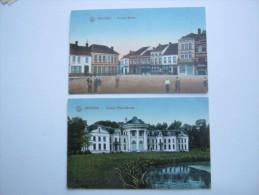 IZEGHEM    ,  2 Carte  Postale Militaire 1914/18  , 2 Scans - Izegem