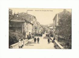CPA 12 RIVIERE Route Des Gorges Du Tarn - France