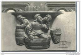 41  VENDOME  ... Stalles De La Trinite ... N° 2   : Les Vendangeurs - Vendome