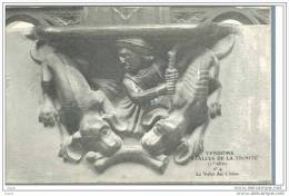 41  VENDOME  ... Stalles De La Trinite ... N° 4   : Le Valet Des Chiens - Vendome