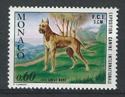 PP-/-313-. MONACO -  GREAD DANE ( GRAND DANOIS ) N° 880, * * , Cote 3.30 €,  Je Liquide - Nuevos