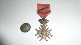 MEDAILLE CROIX DE GUERRE LEOPOLD 3  AVEC PALME  WWII - België