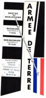 Marque Pages Armée De Terre - Segnalibri