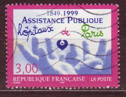 FRANCE - 1999 - YT  N° 3216  -oblitéré - Assistance Publique - Frankreich