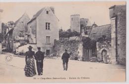 Cinq-mars-la-Pile - Ruines Du Château - Autres Communes