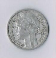 2 Francs Lavrillier Aluminium, 1941 - France - France
