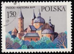 POLAND - Scott #2245 Cathedral, Plock (*) / Used Stamp - Kirchen U. Kathedralen