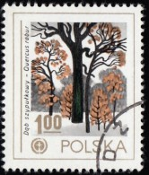 POLAND - Scott #2277 Protection Of Nature; Quercus Robur (*) / Used Stamp - Protezione Dell'Ambiente & Clima