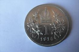 Pièce 1 Corona Autriche 1914 - Autriche