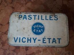FRANCIA SCATOLA VINTAGE PASTILLES VICHY ETAT - Altre Collezioni