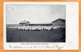 Laramie WY 1905 Postcard - Laramie
