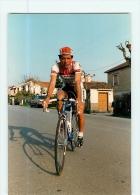 Franco VONA, Autographe Manuscrit Au Dos . 2 Scans. Lire Descriptif. Cyclisme. Brianzoli Château D'Ax - Cyclisme