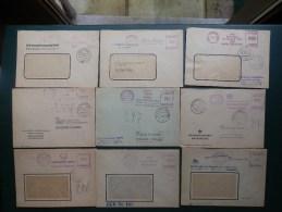 KARTONNENDOOS 7/65     20 LETTRES  ALLEMAGNE   OBL. ZENTRALER KURIERDIENST - Covers & Documents
