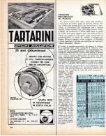 BOLOGNA-CASTELMAGGIORE-OFFICINE MECCANICHE TARTARINI-RITAGLIO DA GIORNALE - Publicités