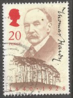 Great Britain. 1990 150th Birth Anniv Of Thomas Hardy. 20p Used. SG 1506 - Used Stamps