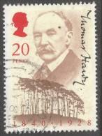 Great Britain. 1990 150th Birth Anniv Of Thomas Hardy. 20p Used. SG 1506 - 1952-.... (Elizabeth II)