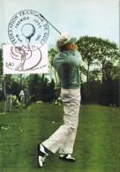 15945. Tarjeta Maxima  PARIS (France) 1980. GOLF. Federation Française - Golf