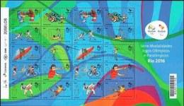 Brasil 2015 ** M/P Modalidades Juegos Olímpicos Y Paralimpicos II. Río 2016. See Desc. - Neufs