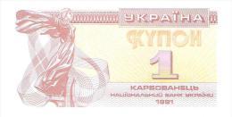 Ukraine - Pick 81 - 1 Karbovanets 1991 - Unc - Ucraina