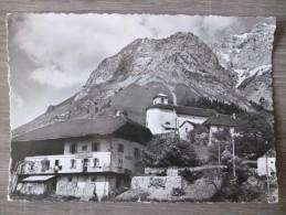 MONTMIN (74).L´HÔTEL DU CHARDON BLEU DANS LE MASSIF DE LA TOURNETTE.  ANNÉE 1956 - Autres Communes