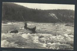 NORVEGE - HAMMERFEST- Carte De Canoe Sur Rivière En 1934 - Voir Scans - Lot P14003 - Norway
