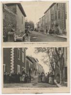 11 - PEYRIAC SUR MER - AVENUE DE NARBONNE - CARREFOUR DE NARBONNE ET DE SIGEAN - CARTE DOUBLE - Autres Communes