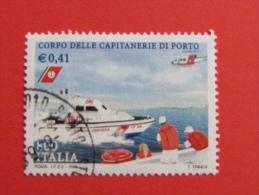 ITALIA USATI 2001 - CORPO DELLE CAPITANERIE DI PORTO - SASSONE 2554 - RIF. G 1901 LUSSO - 6. 1946-.. Repubblica