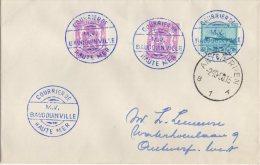 CONGO PAQUEBOT  BAUDOUINVILLE-2  - Courrier De Haute Mer Vers Belgium - PAQ - 1947-60: Lettres