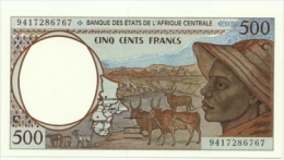 Central African State - 500 Francs 1993/94, - Altri – Africa