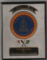 Pakistan Navy - Submarine Agosta Sous-marins - Marine  Plaque 17 Cm X 14 Cm - Boten